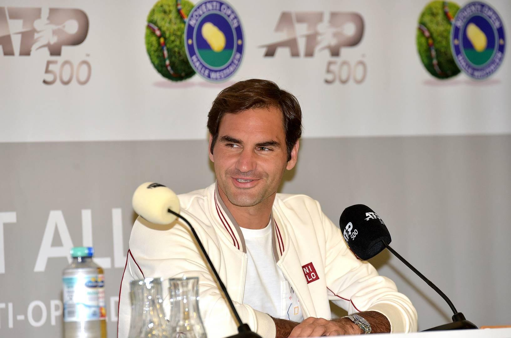 """Роджер Федерер: """"Травяной сезон - это тот этап сезона, когда я чувствую большое давление"""""""
